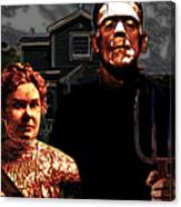 American Gothic Resurrection - Version 2 Canvas Print