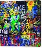 American Graffiti 15 - Crack Head Canvas Print