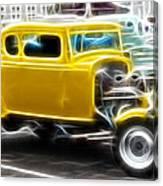 American Grafitti Coupe Canvas Print