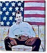 American Hero Canvas Print