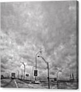 American Highway Canvas Print