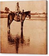 American Indian Chief Cheyenne Canvas Print