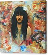 American Indian Maiden Canvas Print