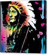 American Indian Silo Canvas Print
