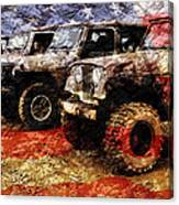 American Jeeps Canvas Print
