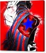 American Justice Canvas Print