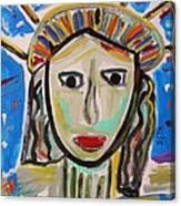 American Lady Canvas Print