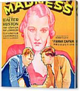 American Madness, Background, Kay Canvas Print