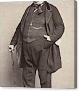 American Man, 1860s Canvas Print