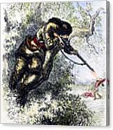 American Marksman Canvas Print