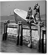 American Merchant Mariners Memorial Canvas Print