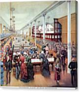 American Millinery, C1885 Canvas Print