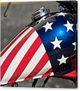 American Motorcycle Canvas Print