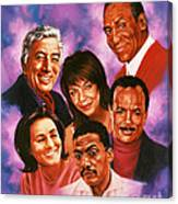American Music All Stars Canvas Print
