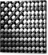 American Pastime In Black And White Canvas Print