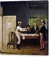 American Politicians, 1844 Canvas Print