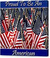 American Pride Canvas Print