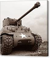 American Tank Canvas Print