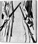 American Uniforms, 1784 Canvas Print
