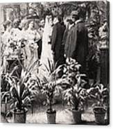 American Wedding, 1900 Canvas Print
