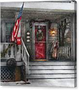 Americana - A Tribute To Rockwell - Westfield Nj Canvas Print