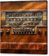 Americana - Radio - Remember What Radio Was Like Canvas Print