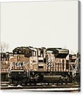 America's Railway Canvas Print