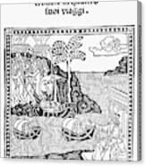 Amerigo Vespucci, 1505 Canvas Print