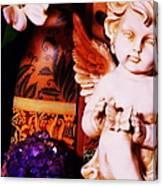 Amethyst Angel Canvas Print
