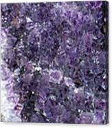 Amethyst Geode II Canvas Print