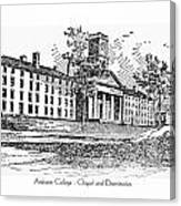 Amherst College - Chapel And Dormitories Canvas Print