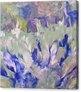 Amidst The Garden Canvas Print