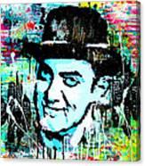 Amir Khan Dhoom 3 Pop Art By Minesh Pankhania Canvas Print
