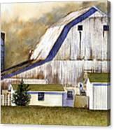 Amish Barn Canvas Print