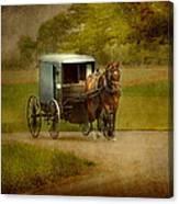 Amish Buggy Ride Canvas Print