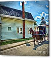 Amish Country Ride Canvas Print