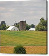 Amish Farm 2 Canvas Print