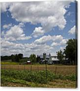 Amish Farm Landscape Canvas Print