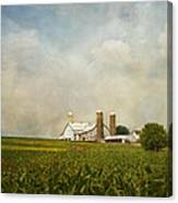 Amish Farmland Canvas Print