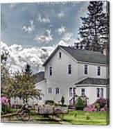 Amish Homestead Canvas Print