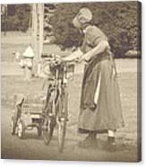 Amish Times Canvas Print