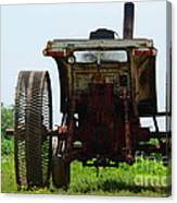 Amish Tractor Canvas Print