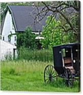 Amish Way Of Life Canvas Print