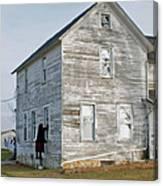 Amish Window Washer Canvas Print