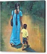Amma's Grip Leads. Canvas Print