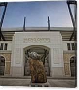 Amon G Carter Stadium At Tcu Canvas Print