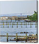 Among My Piers Canvas Print