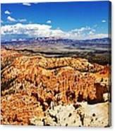 Among The Canyon Canvas Print