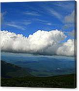 Among Clouds  Canvas Print