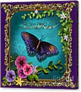 Amore - Butterfly Version Canvas Print
